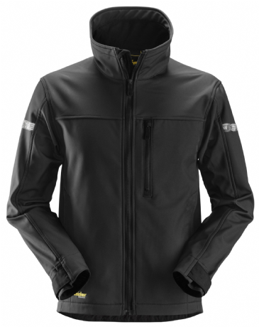Snickers 1200 AllroundWork Softshell Jacket (Black)